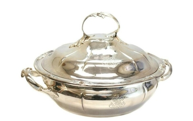 Odiot Maison 950 French Silver Covered Dish