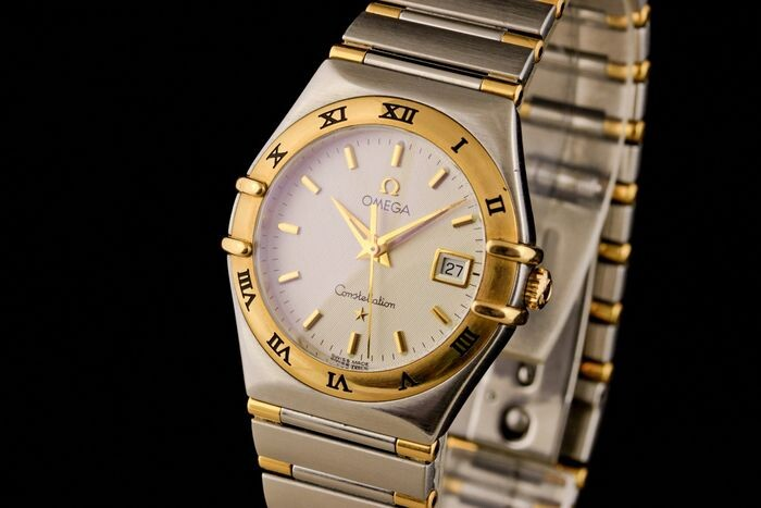 """Omega - Constellation Gold/Steel - """"NO RESERVE PRICE"""" - Women - 2000-2010"""