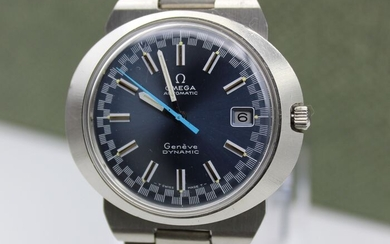 "Omega - Genève Dynamic - Shadow blue Racing dial - Automatic- ""NO RESERVE PRICE"" - Men - 1970-1979"