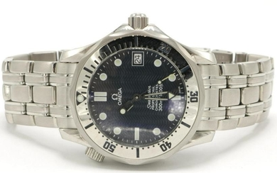 "Omega ""Seamaster"" Stainless Steel Watch"