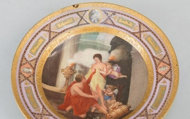 Porcelain dish in Sorgenthal style