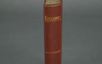 Stevenson. Kidnapped. 1886. First Edition.