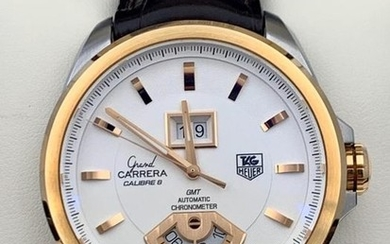 TAG Heuer - Grand Carrera Calibre 8 GMT Gold Steel- WAV5152.FC6231 - Men - 2011-present