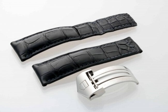 Tag Heuer FC5014 Leather Watch Strap 22MM With Buckle