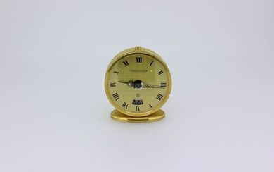 Travel clock - Bronze (gilt/silvered/patinated/cold painted) - Second half 20th century