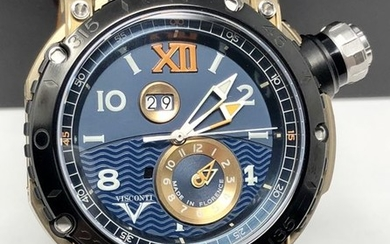 """Visconti - Automatic Grand Cruise Final Edition GMT Bronze LIMITED EDITION of 69 - KW31-02 """"NO RESERVE PRICE"""" - Men - NEW"""