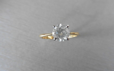 1.24ct diamond solitaire ring with a brilliant cut...