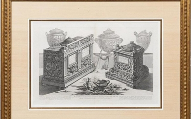 18TH C., GIOVANNI BATTISTA PIRANESI ENGRAVING