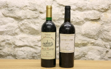 2 BOTTLES MIXED LOT COMPRISING: 1 BOTTLE 1949 VINTAGE