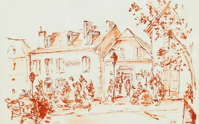 20th Century French School. Study of a French