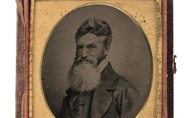 John Brown, Sixth Plate Melainotype After Black