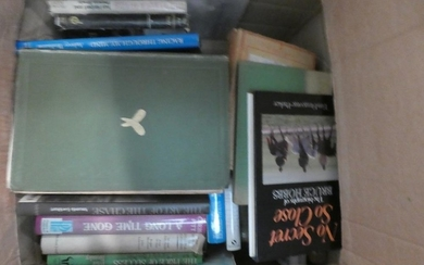 3 Boxes of books of hunting & racing interest to include B.C...