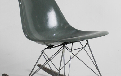 A Charles and Ray Eames for Herman Miller rocking chair
