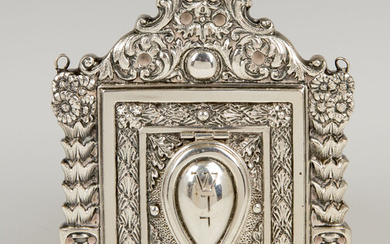 A SILVER AMULET HOLDER. Probably Italy, 20th century. In...