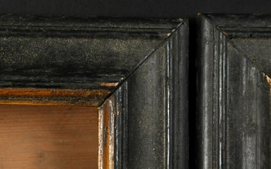 "A Set of Four 18th Century Ebonised Frames. 6.5"" x 5.5"""