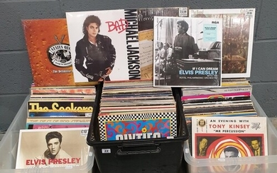 A collection of LPs of various genres some sealed and later ...