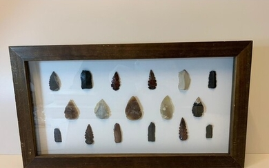 A selection of Neolithic Tools to include Blades, Arrowheads...