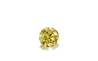 An Unmounted Fancy Coloured Diamond