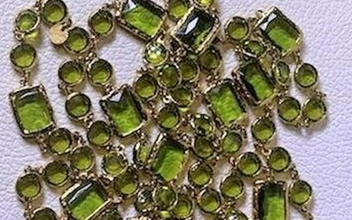 Authentic Runway Chanel 1980's Infinity Chain