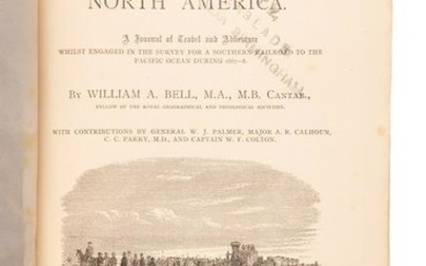 Bell, New Tracks in North America, Color Lithographs