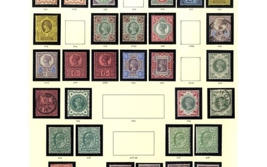 COLLECTION 1840-1970 M & U housed in a Windsor album incl. ...