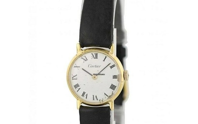 Cartier 18K Yellow Gold Vintage Watch