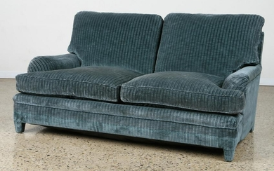 FRENCH CURVED ARM SOFA MANNER OF JANSEN C.1950