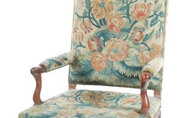 FRENCH PROVINCIAL FAUTEUIL.