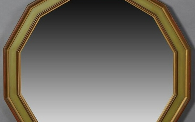 French Louis Philippe Style Polychromed Overmantle