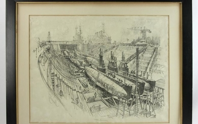 Joseph Pennel, Signed Lithograph
