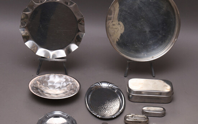 METAL ITEMS, nickel silver & stainless steel, i. a. Solingen.