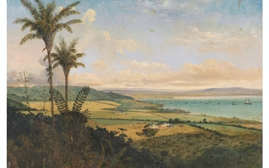 Michel Jean Cazabon (1813-1888), Port of Spain from Fort George