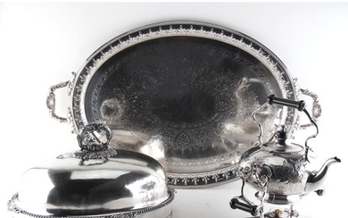 Property of a lady - a late 19th / early 20th century silver...