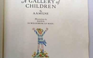 SIGNED COPY: A GALLERY OF CHILDREN BY A. A....