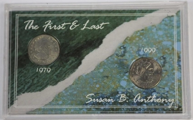 SUSAN B. ANTHONY THE FIRST & LAST MINT SET