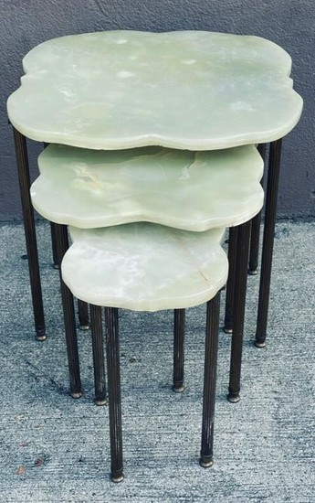 Set of Mid Three Century French Nesting Tables