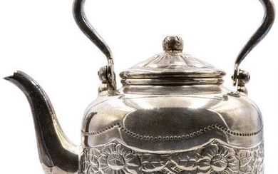 Teapot and sugar bowl