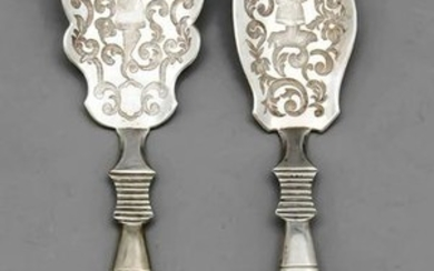 Two pieces serving cutler