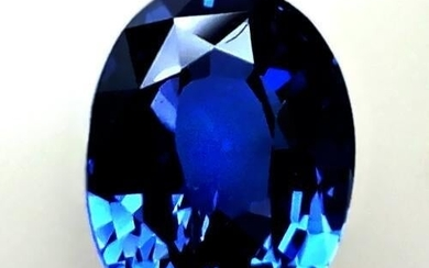 2.03 Cts Natural Blue Sapphire