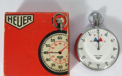 A Heuer 'YACHT-TIMER' Ref: 403615, boxed and running