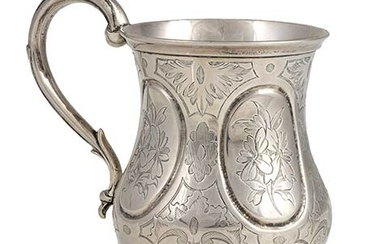 A Victorian sterling silver Mug - London 1857, George Richards...