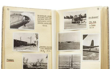A photo album from Major Werner Mayer