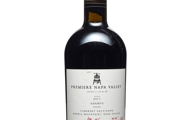 ADAMVS, Borne Cabernet Sauvignon 2011, Premier Napa Valley Premiere Napa Valley offers limited edition, small production (60-240 bottles produced), one-of-a-kind cuvées from top tier California producers. The winemakers utilize this special opportunity...