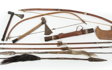 African Hunting Implements