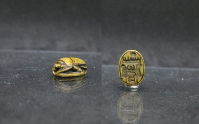Ancient Egyptian Steatite Scarab for Thutmose III