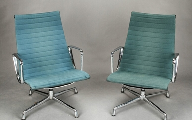 Charles & Ray Eames. A pair of Conference chairs, model EA-106 (2)