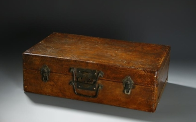 Chinese Leather Travel Case