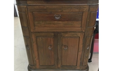 Chinese hardwood cocktail cabinet.