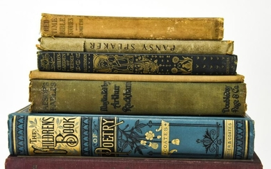 Collection Vintage Children's Books, Illustrated