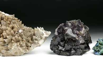 Collection of Three New World Geological Specimens